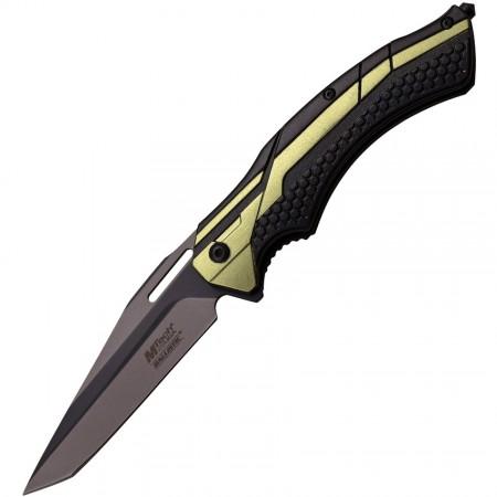 M-tech, Linerlock Black/Green A/O, A934BG