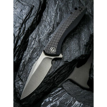 Civivi, Baklash, Linerlock, Carbon Fiber/Black
