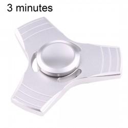 Aluminium Hand stress Spinner Zilver