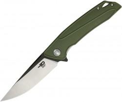 Bestech Knives, Spike, Linerlock , OD Green