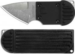 Kershaw Al Mar, AM-6 Fixed Blade Neck Knife Black GFN