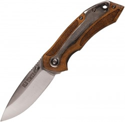 901OT Drop Point Blade Ironwood Handle
