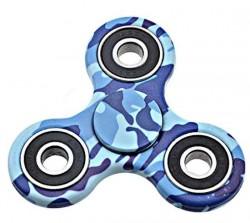 Fidget Spinner - Hand Spinner Blauw Camouflage