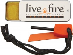 Live Fire Original, Emergency Firestarter, Survival Kit