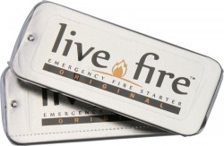 Live Fire Original, Emergency Firestarter, Twin Pack