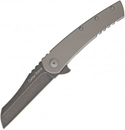 Ontario, Carter Prime Frame Lock Flipper Titanium, ON8875