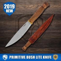 Condor Tool&Knife, Primitive Bush Lite Knife, Carbon Steel, MODEL 2019