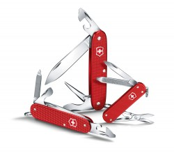 Victorinox, Pioneer Alox, 8 functions, Berry Red