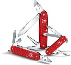Victorinox, Cadet Alox, Berry Red, 9 functions, Limited Edition 2018