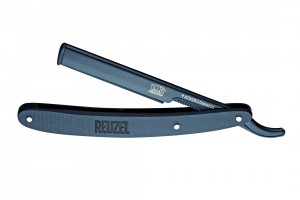 Böker, Barberette Pro Reuzel, Black, Replaceable Razor knife (incl. 5 extra razor blades)