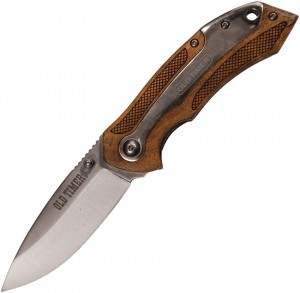 901OT Drop Point Blade Ironwood Handle